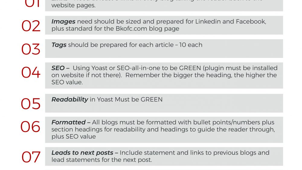 What to do to make your blog found, read and shared
