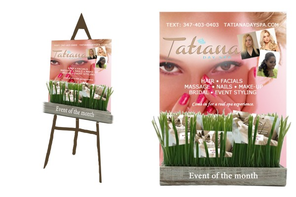 Poster and Signage Creation