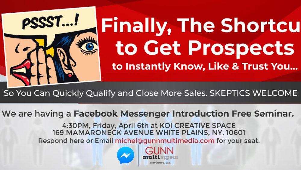 Faecbook Messenger Script Writers