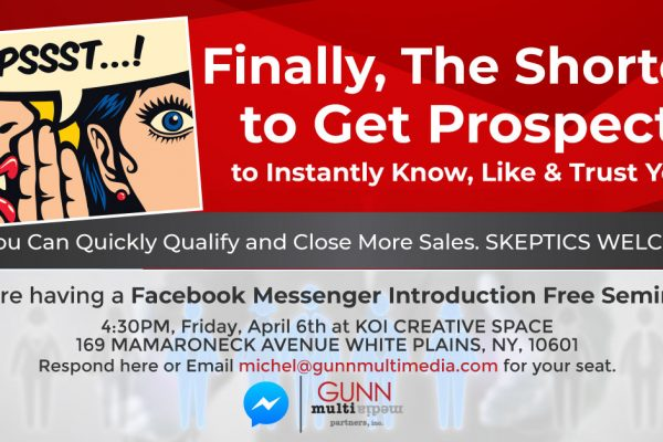 Faecbook Messenger Script Writers