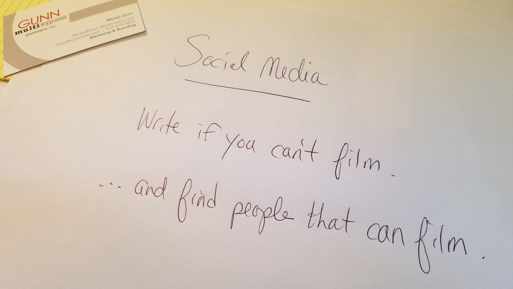 Social Media Plan and Rules Gunn Multimedia, Michel Gunn